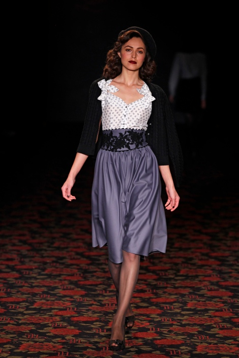 Lena Hoschek. BERLIN FASHION WEEK FW2012