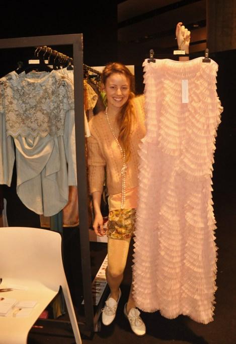 En el showroom, Ida Johansson. Fotografía de ROCIO PASTOR EUGENIO