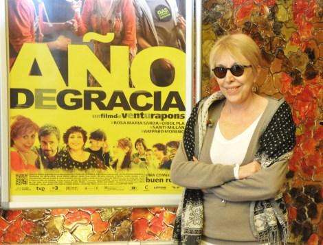 Rosa María Sardá. Fotografía de Rocío Pastor Eugenio.