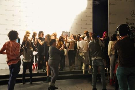 Backstage. Fotografía de ROCIO PASTOR EUGENIO
