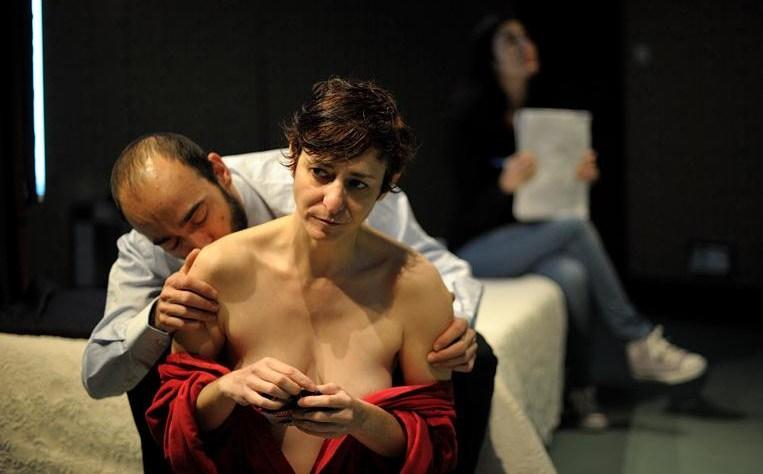 Imagen de 'La piel en Llamas'. Teatro María Guerrero, de Madrid.