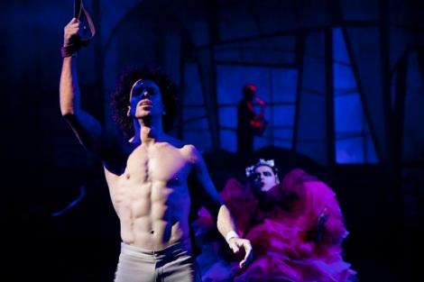 Imagen de una parte del espectáculo THE HOLE