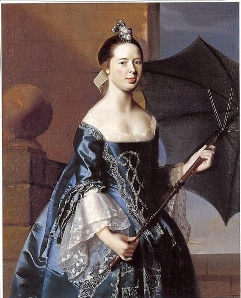 1763 John Singleton Copley 1738-1815 Mary Tappan Mrs Benjamin