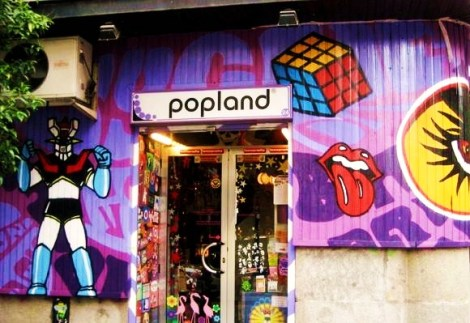 Pop Land. Calle Manuela Malasaña, 24