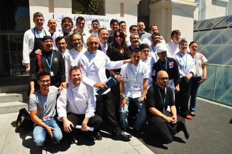 Chefs seleccionados para formar parte de las Jornadas. Fotografía de Rocío Pastor Eugenio. WOMANWORD