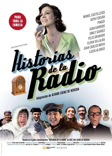Cartel Historias de la Radio.