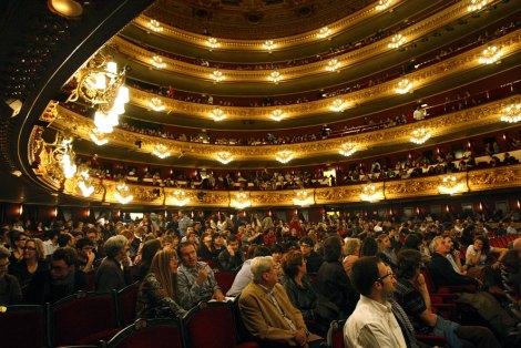 Patio de Butacas del Teatro Liceo. Fotografía de JOAN SÁNCHEZ