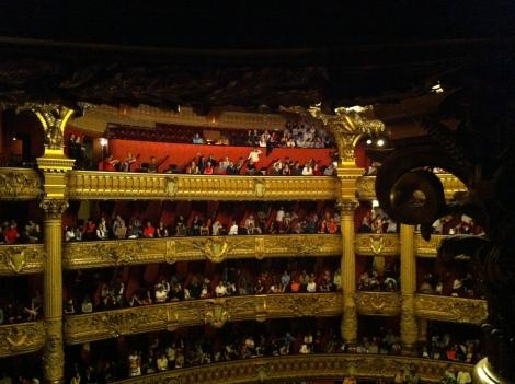 Palais Garnier por Rocío Pastor Eugenio. WOMANWORD