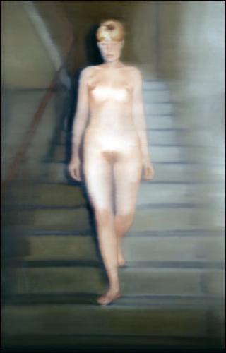 Ema. 1966. Huile sur toile. Gerhard Richter.
