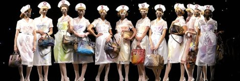 Nurses. Louis Vuitton by Marc Jacobs
