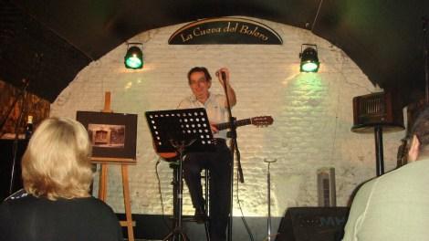 Antonio Pastor en concierto. Fotografía de/por Rocío Pastor Eugenio. WOMANWORD