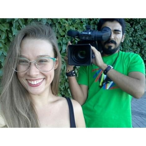 WOMANWORD entrevistada por #LaSexta #LaSextaNoticias esta noche en #informativos #selfiespeligrosos #interview #media #selfie #camera #WOMANWORD #me #tv