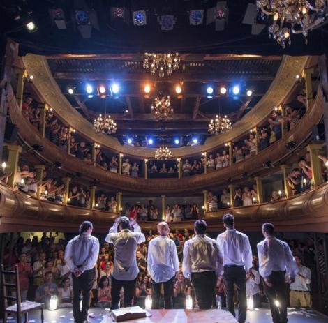 """Estreno """"Siglo de Oro, Siglo de Ahora"""". Compañía Ron Lalá. Corral de Comedias. Alcalá de Henares. Foto: David Ruiz."""