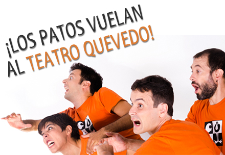 Improvisa y juega en el Teatro Quevedo