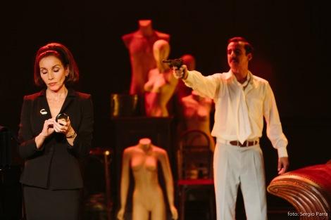 Kathie y el Hipopótamo. Foto de Sergio Parra, Teatro Español.
