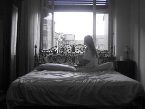 Desde mi ventana. Torino. Rocío Pastor Eugenio.