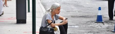 Street Style by WOMANWORD in NYFW. Fotografía de/ por © Rocío Pastor Eugenio. ® WOMANWORD