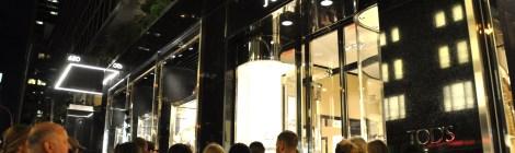 Opening Party in Madison Avenue by Tod's. Fotografía de/ por © Rocío Pastor Eugenio. ® WOMANWORD
