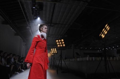 Aganovich catwalk. Fotografía de/ por © Rocío Pastor Eugenio. ® WOMANWORD