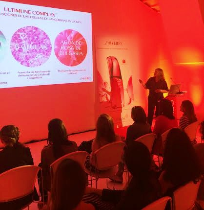 Evento Privado Shiseido. WOMANWORD como invitada